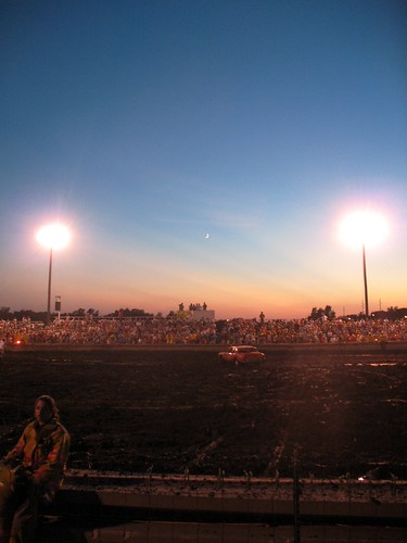 demolition derby...moon rising