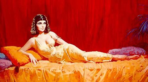 dibujo cleopatra por ti.