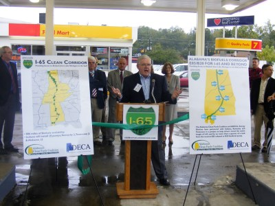 E85 Press Conference in Vestavia Hills
