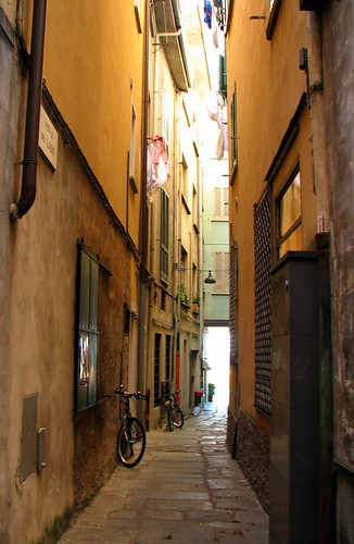 A small lane in Stresa by you.