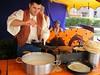 Cocinando crepes