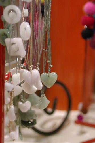 TEMOA - Pendentifs et bracelets ajustables en Jade de Chine, Kanikan