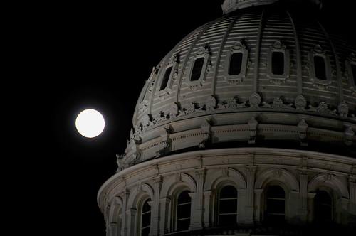 moon over Texas