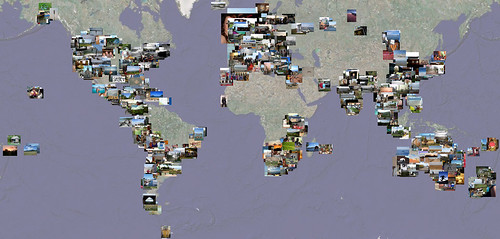 Fuzzy Travel photo map
