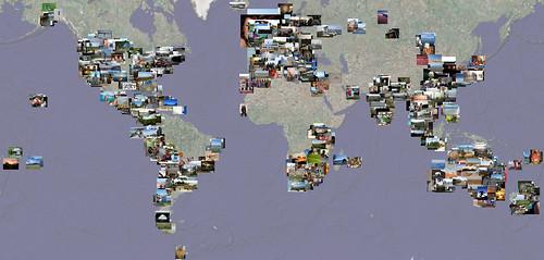 Fuzzy Travel photo map