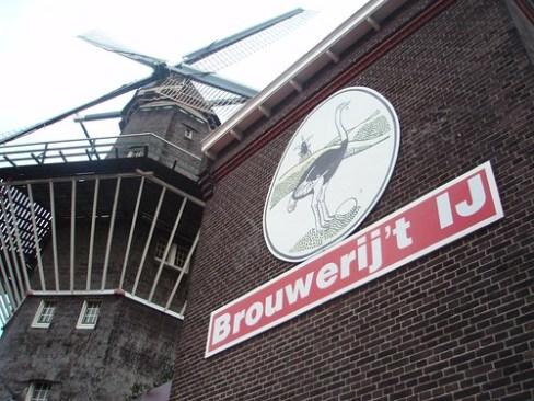 Brouwerij't Ij y el Molino de Viento de Goooyer