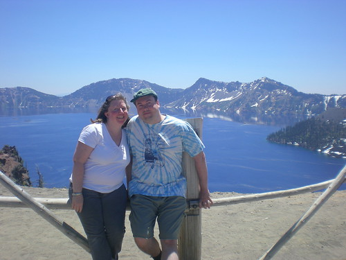 Me and My Bro at Crater Lake
