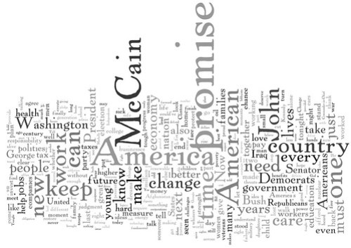 Barack Obama Acceptance Speech - Word Cloud