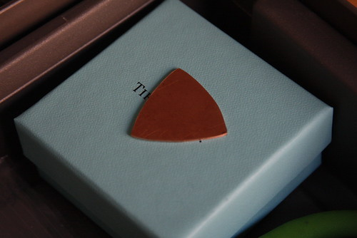 Copper Guitar Pick Shape