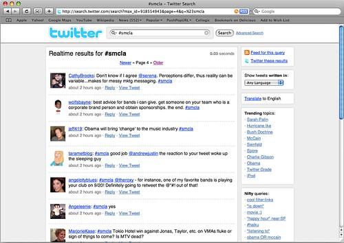 SMCLA Twitter Stream