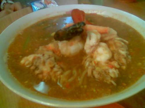 Min Kong Prawn Noodles - soup