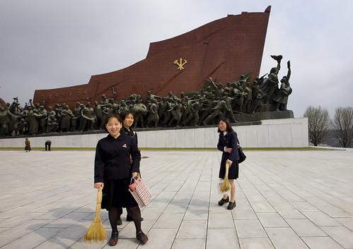 Grand Monument on Mansu Hill - North Korea