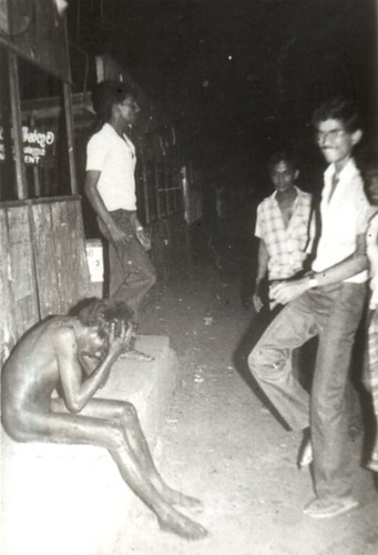 1983 Borella rioters - kick boxer