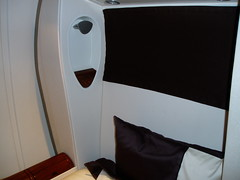 Singapore First Class Bed