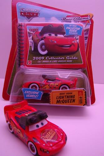 Night vision Lightning McQueen