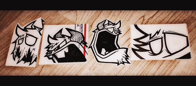 Swar-Sticker Set