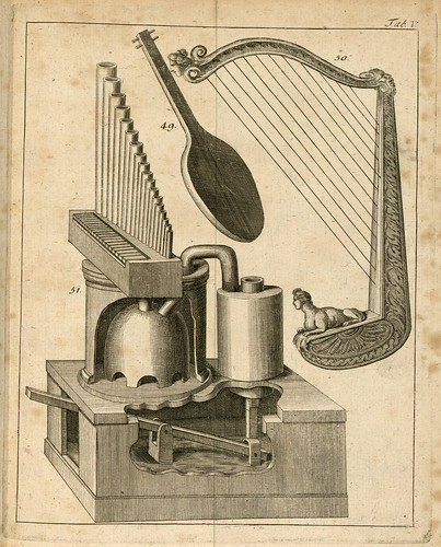 Harp and Pneumatic Organ