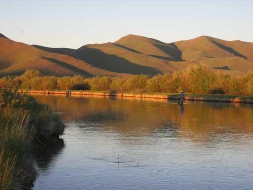 Silver Creek Idaho Evening Light