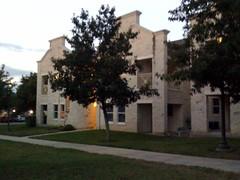 Het tijdelijke appartement in McCombs Campus Center