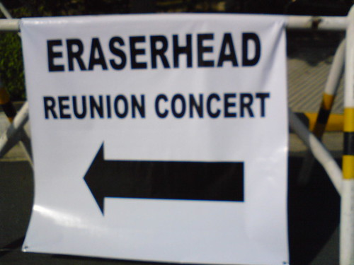 Eraserhead Reunion Concert daw