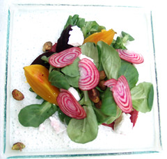 Beet & Goat Cheese Salad, the Foundry