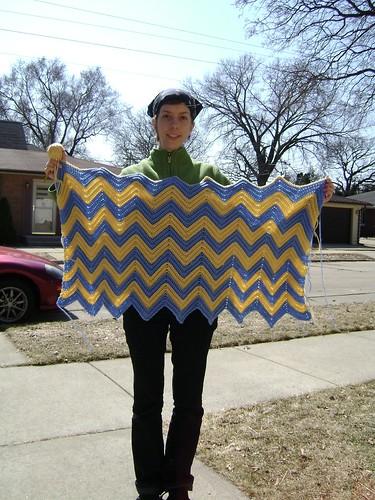 Crochet Afghan - WIP