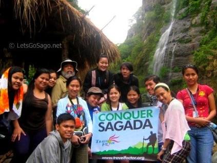 Sagada Trekkers Group Picture
