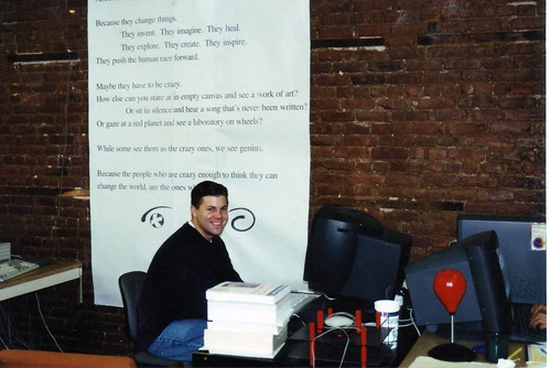 Shawn Collins at MedSite.com in Silicon Alley back in the 1990's
