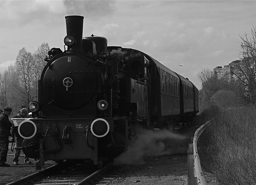 Lokomotive am Wilhelmsruher Damm