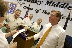 Mark Warner in Abingdon