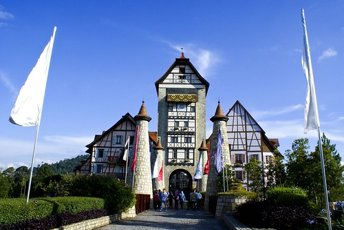 Colmar Tropicale entrence