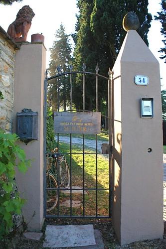 Gate at Fattoria Settemerli
