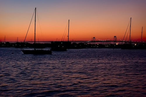 Newport Sunset - Shrewbiedoobiedoo