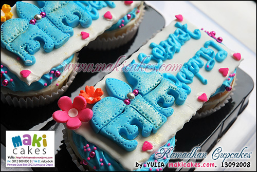 Ramadhan Cupcakes - Maki Cakes