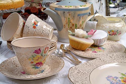 Deco Tea sets of mine