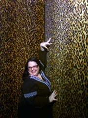 Me in the Leopard Room