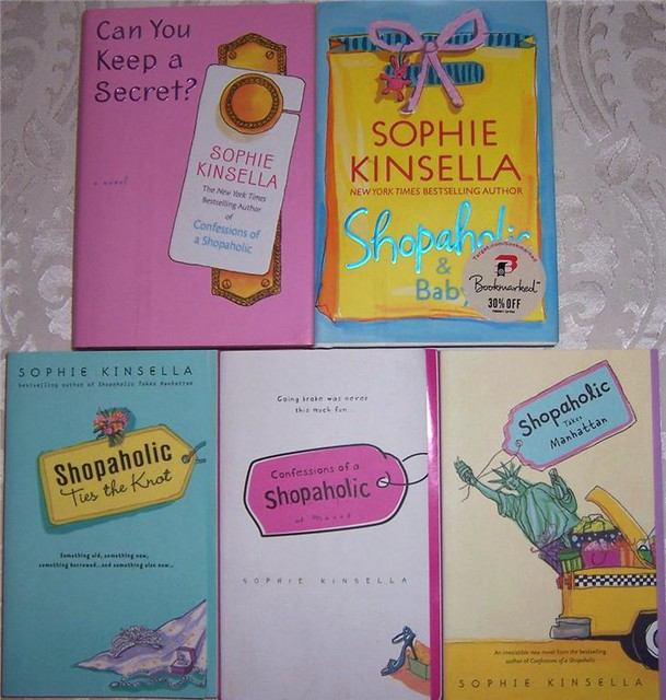 sophie kinsella shopaholic book lot