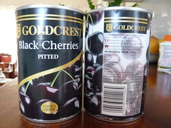 Goldcrest Black Pitted Cherries