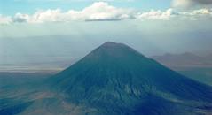 """mt_aerial_Ol Doinyo Lengai (""""Mountain of ..."""