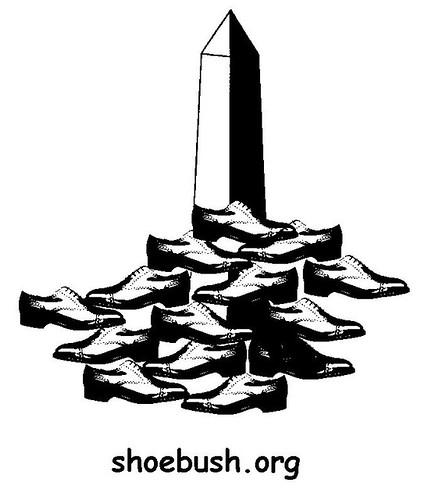 Shoe Salute for Bush on January 19th
