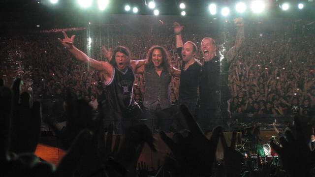 Thank you guys! (Metallica @ Foro Sol - Mexico 2009)