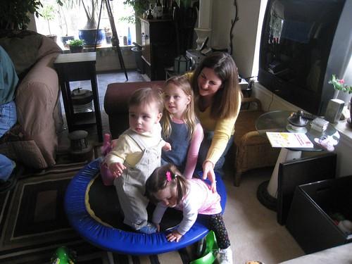 Miles, Ella, Amelia, and Sandy