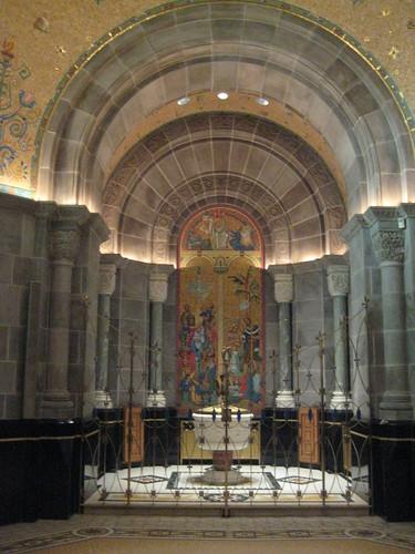 Baptismal Font, Ste Anne Basilica
