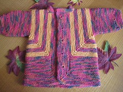 68-08 Baby Surprise Jacket 3 front