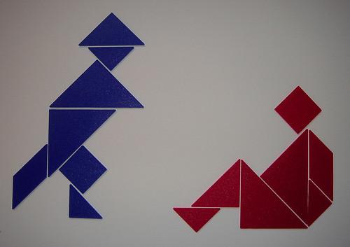 two figure tangram