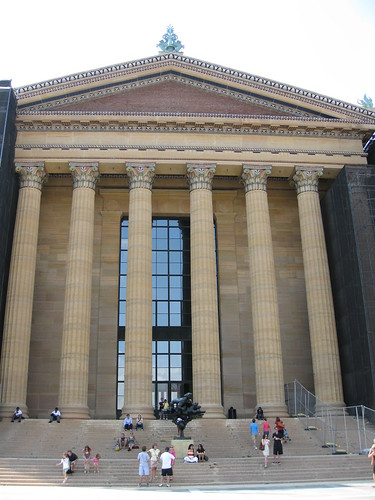 Entrance to the Philadelphia Museum of Art