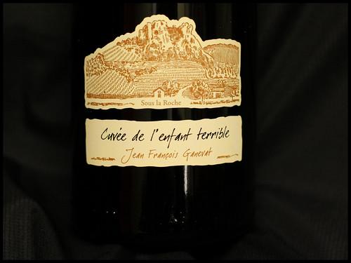 Domaine Ganevat Côtes du Jura Cuvée de l'enfant terrible 2008