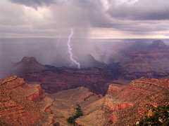 Temporale sul Canyon - Thunderstorm on the Canyon