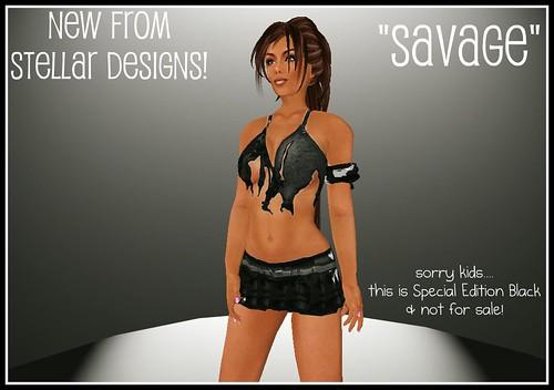 "FOTB - Stellar Designs ""Savage"""