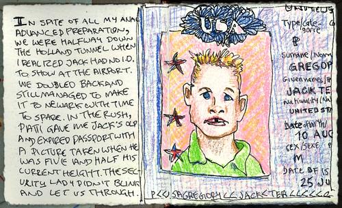 OJournal1 Jack's Passport
